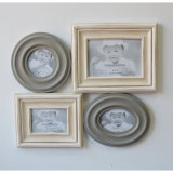 Wooden Decorative Items with Photo Frame