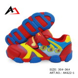 Sports Shoes Lovely Carton Printing Walking Footwear for Children (AK622-1)