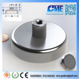 Strong N40 D76.2xh38.1mm High Quality NdFeB Potn08 Magnet