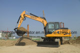 14 Ton Wheeled Excavator Long Time Service
