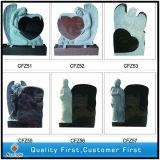 G664/Shanxi Black/G603/Aurora/G654 Granite Carving Tombstone Monument for Memorial/Cemetery