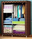 Antique Fancy Bedroom Folding Metal Wardrobe Cabinet (FW-07)