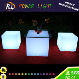 Event Decorative RGB Color Changing LED Bar Cube Chair