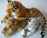 Stuffed Animal Forest Tiger Realistic Plush Toy