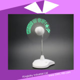 Customized Mini Desk Fan with Light for Gift (KHA-008)