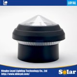 Loyal Best Price ISO9001 White 2'' Inch   in Bpost Green Solar Sensor LED Outdoor Solar Post Chain Fence Cap Light