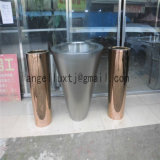 Wholesale Fashion Design Living Room Home Decoration Rose Gold Stainless Steel Flower Vase