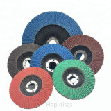 5 Inch Sanding Flexible Grinding Flap Disc Wheel for Abrasive