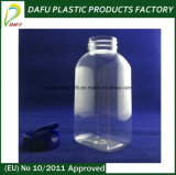 300ml Clear Rectangular Empty Plastic Bottle