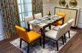 Mahogany Solid Dining Set for Dining Room (BM1-D)