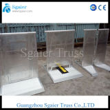 Aluminum Stage Barrier, Police Barrier, Expandable Safety Barrier