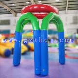 Commercial Used Inflatable Basketball Court/Fun Fitness Cardio Bouncer Inflatable Basketball Court