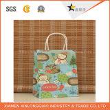 Christmas Handbags Printed Paper Gift Packing Bag for Garment&Shoes &Sunglass
