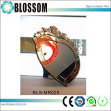 Heart Shaped Table Mirror Cosmetic Mirror Makeup Mirror Decoration Mirror