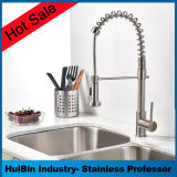 Hotsale Hot & Cold Stainless Single Handle Pull Down Sprayer Mixer Faucet