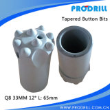 34mm Tapered Pneumatic Rock Drill Bits