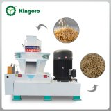 0.8-1 T/Hour Vertical Ring Die Rice Husk Pellet Machine