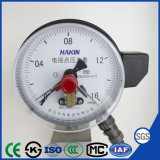 150mm Photoelectric Induction Electric Contact Pressure Gauge with Stainless Steel