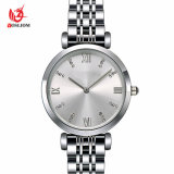 Factory Wholesale Price Stainless Steel Belt Women's Watch -V102
