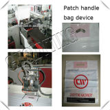 Automatic Shopping Plastic Handle Bag Making Machine with Handle Hole