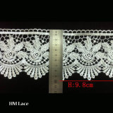 Polyester Ladder Water Soluble Chemical Lace Trim by The Yard Good Color Fastness L011
