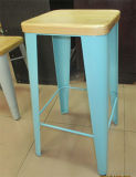 Supply Metal/Steel Tolix Stool with New Design Foot (MC-15572)