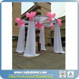 Round Tent Pipe and Drape Innovative Systems for Wedding