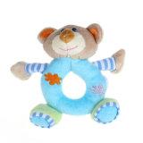 Wholesale Educational Toy Plush Baby Girls Boy Infant Hand Rattle Animal Soft Plush Doll
