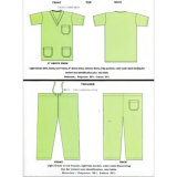 New Design Polyester Cotton Scrub Suit
