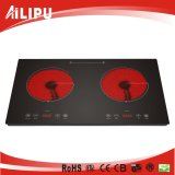 New Arrival and CE&CB Certification Double Burner Electric Cooktop