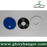 Rounded Size Rack Divider for Hanger Classification (GLPZ006)