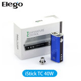 Wholesale Vapor Cigarette Eleaf Istick 40W Tc Box Mod From Elego