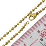 Wholesale Gold Ball Chain Stainless Steel Bead Chains for Necklace