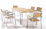 Outdoor Patio Furniture Rattan Dining Table Sets