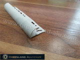 Aluminium Profile Round Tile Trim with Powder Coating White