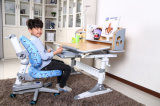 Friendly-Environment Ergonomic Desk Study Table and Chair for Children Writing Table
