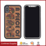 Printed Unique Custom Design Real Wooden Hybrid Protective Phone Cases