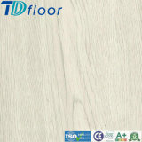 White Plank Wood Plastic Composite WPC Flooring with Cork Pad