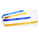 Billet Aluminum Anodized Speedway/Grasstrack Motorcycle Low Profile Stepped Push Bar