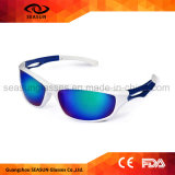 White Unisex Sky Coloured Outdoor Sport Glasses Best UV Protective Cycling Hikking Sunglasses