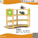 Wooden Kids Shelf for Preschool Toys Cabinet