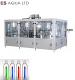 Water Juice Beverage Carbonated Drink Automatic Mono Block Drinking Bottling Rising Filling Capping Labeling Packing Line Plant Machine