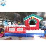 5*4m Top Quality Christmas Inflatable Bouncer New Year Gift