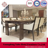 Thrifty Restaurant Furniture with Dining Table and Chairs (W-M-06)