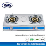 Stainless Steel Double Burner China Gas Stove