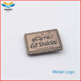 Hot Fashion Design Customize Metal Logo Plate Personality Logo