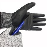 13G Safety Cut-Resistant Gloves with PU Coated Against Mechanical Risks
