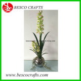 78cm High Silk Artificial Flowers Fake Orchid for Home Decoration