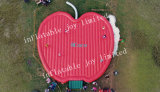 15*10m Giant Inflatable Jumping Pad, Commercial Rent Inflatable Bouncy Playground, Apple Shape Jumping Bed