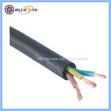 AS/NZS Standard Rubber Cable 3core 2.5mm 600/1000V Electrical Power Cable for Australia Market